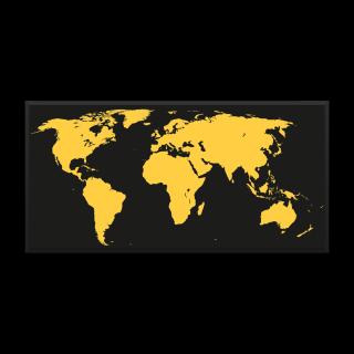 Obrysy kontinentů